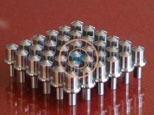 我厂承接外贸商定制的日本三丰硬度计标准级金刚石压头案例